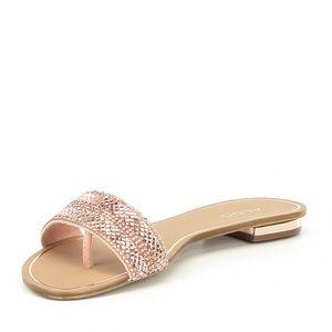1d682da6c8 Aldo Shoes | Cadilinna Rose Gold Flat Size 85 | Poshmark